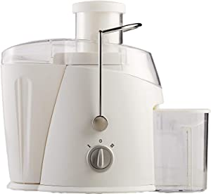 Brentwood Juice Extractor with Graduated Jar, 2-Speed 400w, White