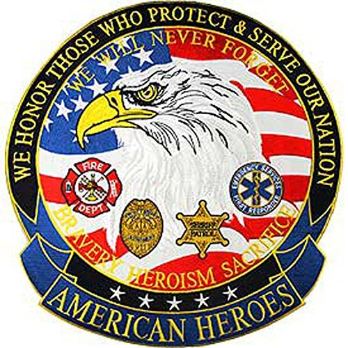 - Eagle Emblem American Heroes Medium Patch