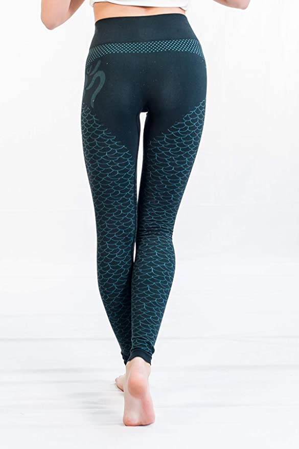 bbc82130af55f2 Yogamasti Shanti OM Leggings: Amazon.co.uk: Clothing