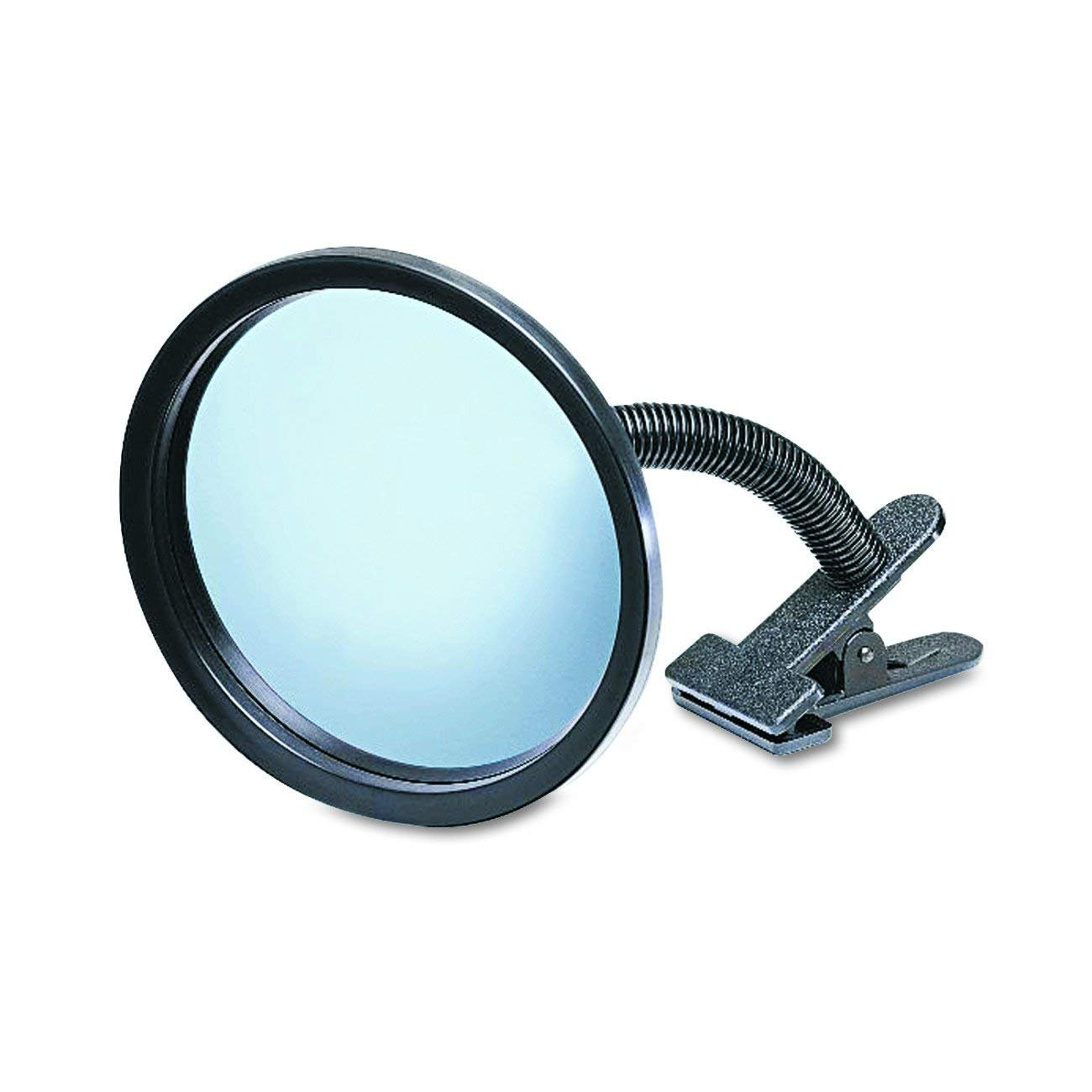 ICU7 Personal Safety and Security Clip-On Convex Security Mirror, 7'' Diameter (Pack of 1)