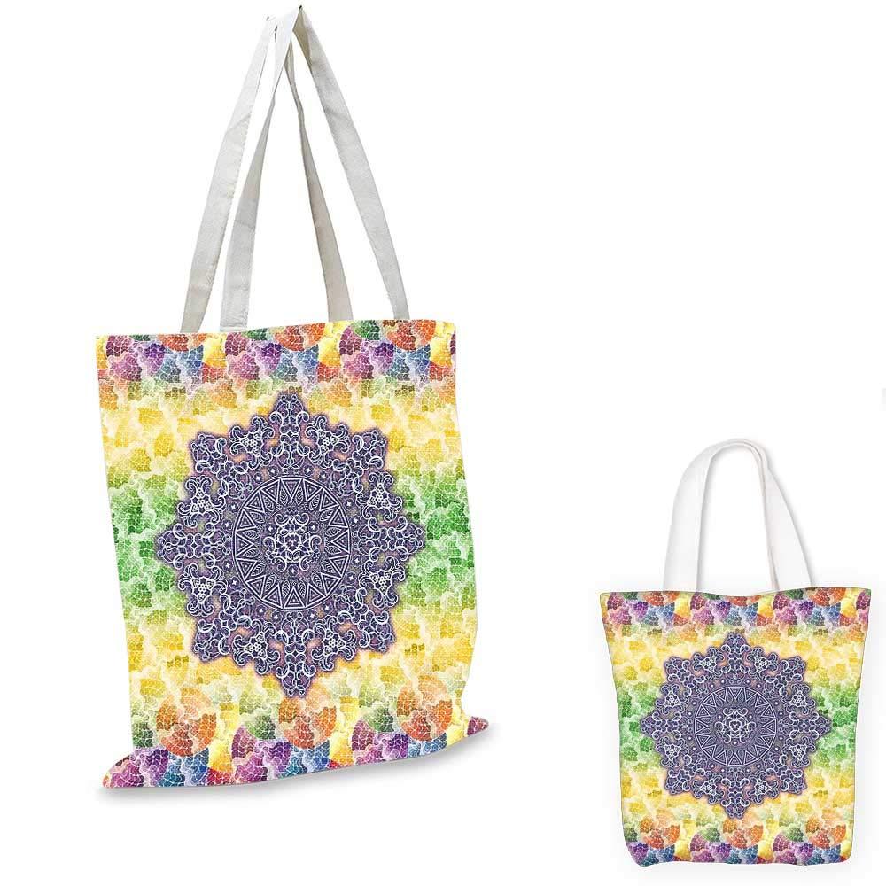 HennaSunflower 模様 落書きスタイル 幾何学的要素 サークルとライン プリント ブラック ホワイト 12