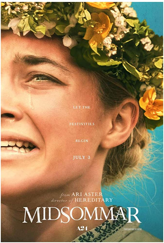 No Band Generic Midsommar Horror Movie Poster Florence Pugh Will Poulter Wall Decor Wall Art Posters Prints 24x36 Inches Photo Paper Material Custom Poster