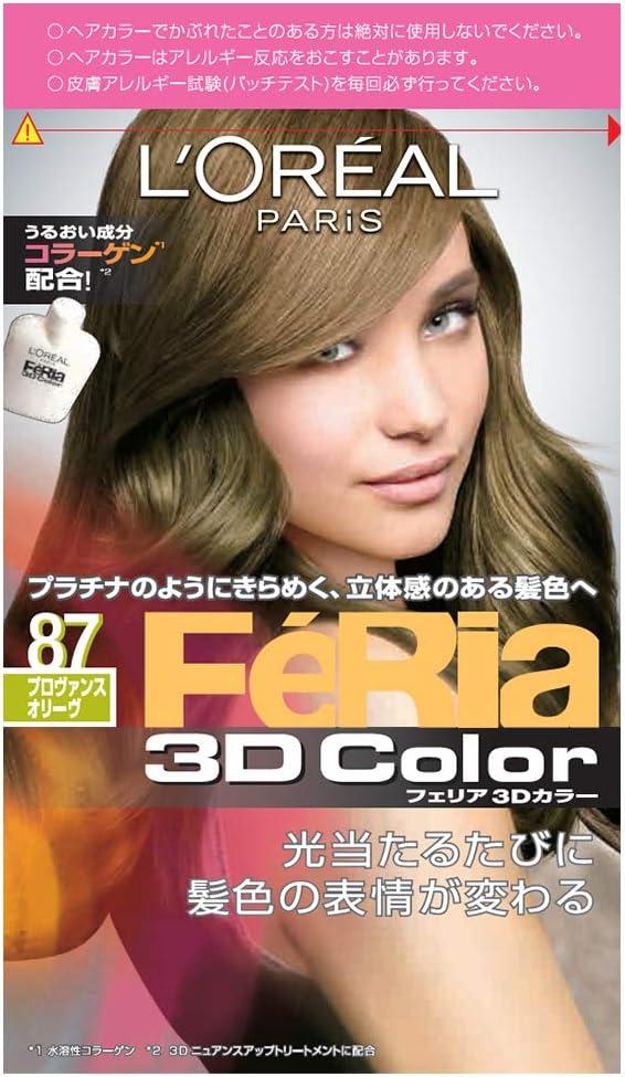 LOreal Paris Hair Color Feria 3D Color # 87 Provence Olive ...