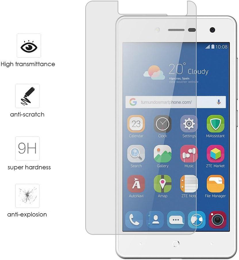 Tumundosmartphone Protector Cristal Templado para ZTE Blade L7 Vidrio: Amazon.es: Electrónica