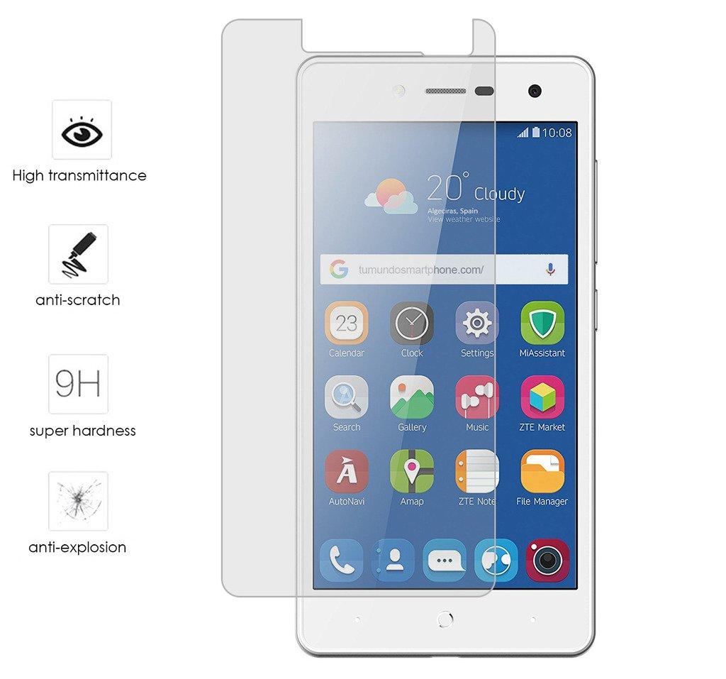 Tumundosmartphone Protector Cristal Templado para ZTE Blade L7 Vidrio