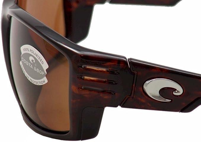 Costa Del Mar Mens Cortez Wrap Sunglasses