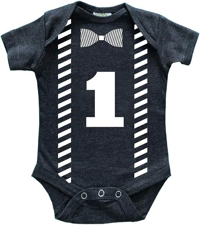 Amazon.com: Camiseta de bebé para primer cumpleaños para ...