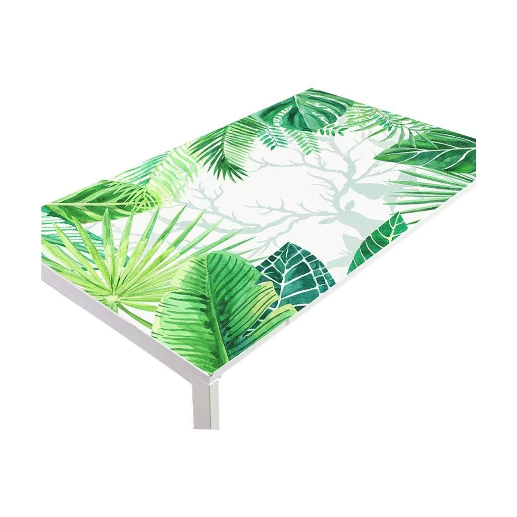 LIGONG レストランのデスクトッププロテクターファッションpvc柔らかいガラステーブルマットテーブルクロスに適しテーブルコーヒーテーブルプラスチックマルチサイズ (サイズ さいず : 90*160センチメートル) 90*160センチメートル  B07RRBQ65W
