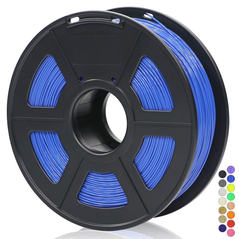 ANYCUBIC 3D Printer 1.75mm Filament PLA 3D Printing PLA Filament 1KG Spool for 3D Printers /& 3D Pens Clear