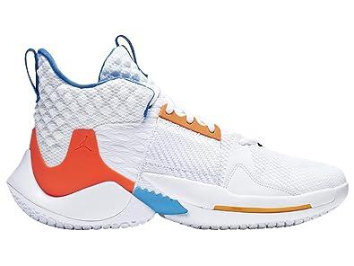 eb9670b9ef537 Amazon.com | Nike Men's Jordan Why Not Zer0.2 White/Total Crimson ...