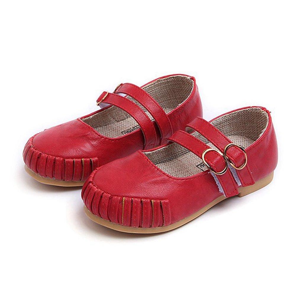 Toddler//Little Kid CYBLING Girls Ballet Flats Pretty Slip On Princess Shoes Ballet Ballerina Shoe