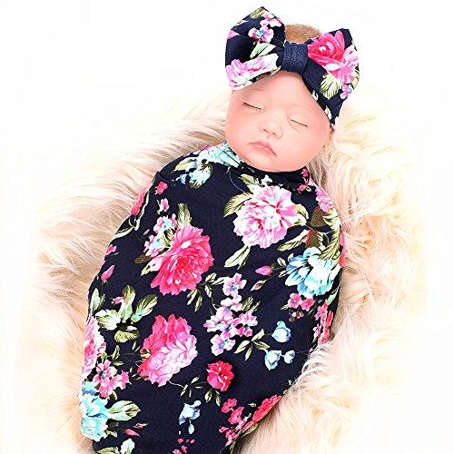 Galabloomer Newborn Receiving Blanket