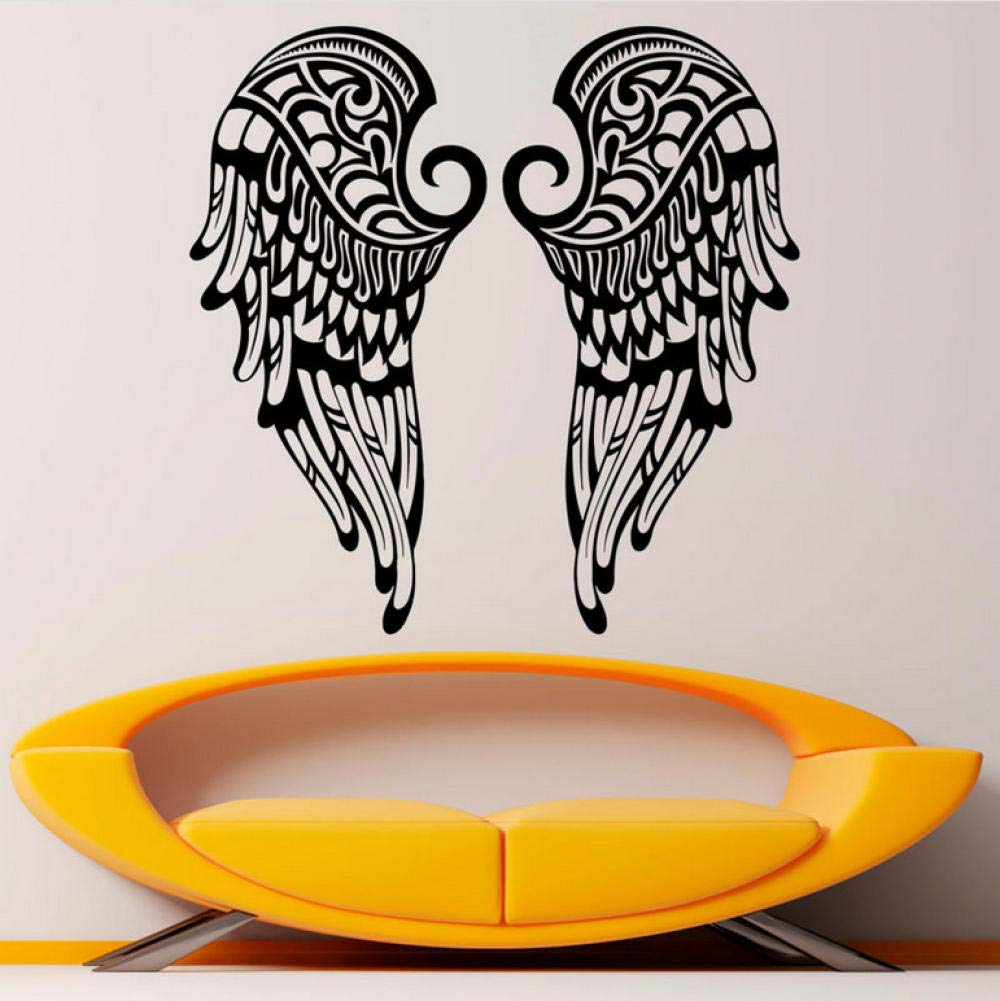 Amazon.com: Calcomanía de pared con diseño de alas de ángel ...