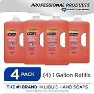 SOFTSOAP Antibacterial Liquid Hand Soap Refill, Crisp Clean, Antiseptic Hand Soap, Moisturizing Hand Soap, 1 Gallon (Pack of