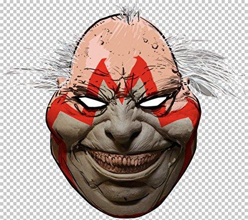 (Ghoulish Productions Spawn Comics Violator Mask)