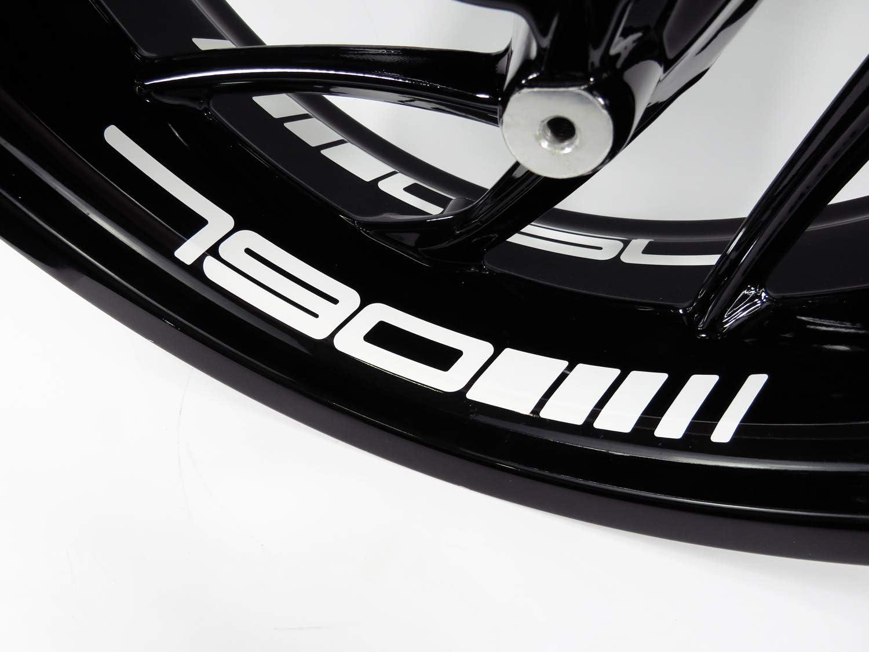 Bike Label 790077a Felgenbett Aufkleber Passend Für Ktm 790 Duke Und Adventure Auto