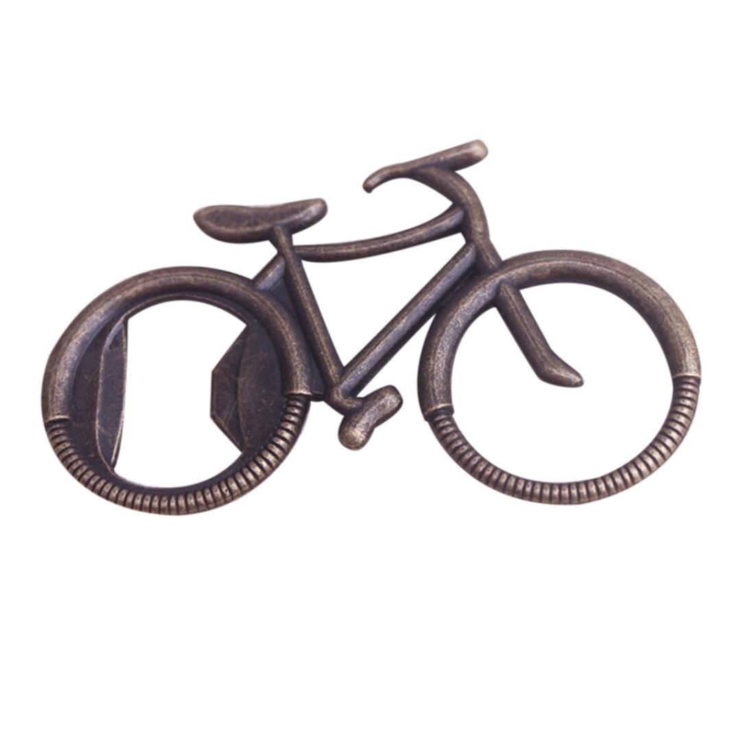 WINKEY botella abridor, abridor de botella de forma de bicicleta ...