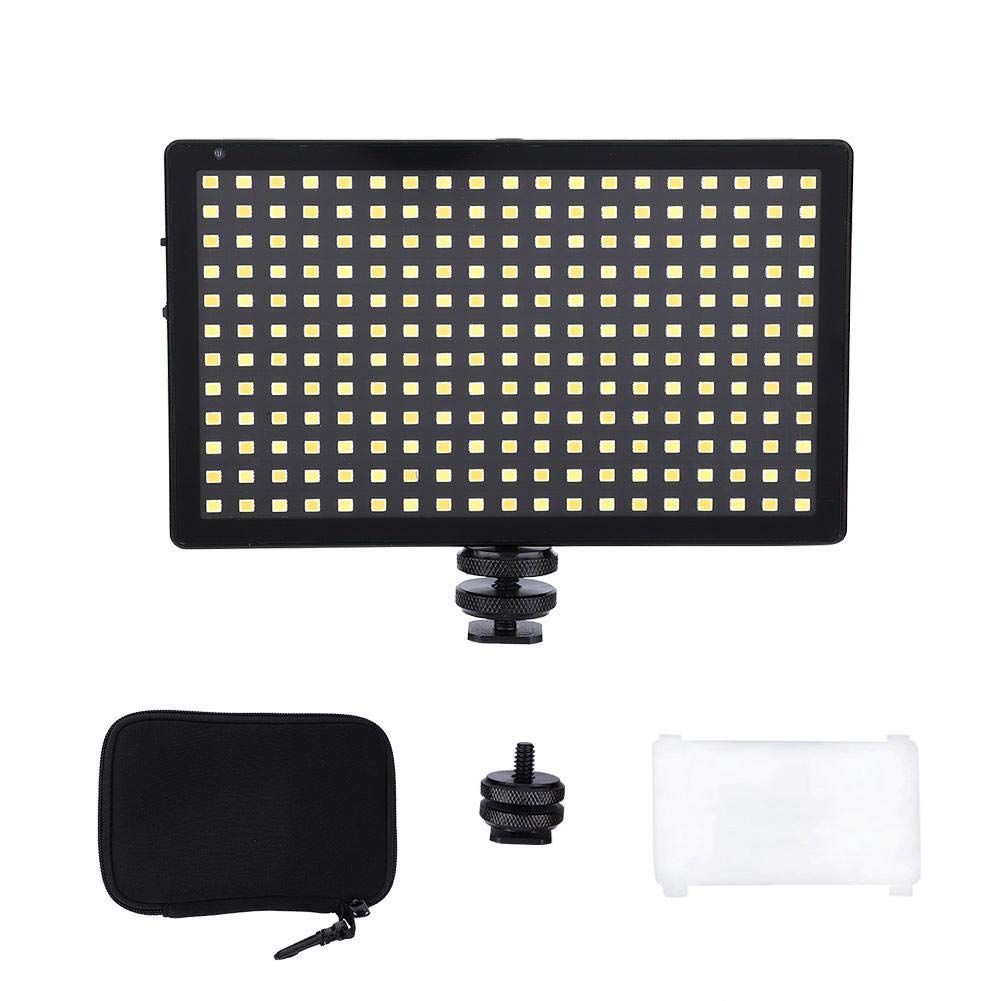 Senyar LED Photography Light,L28 LED Video Light Fill Light 3200-5600K CRI97 for Camera Shooting (red) by Senyar