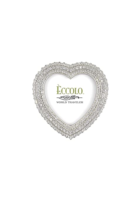 EccoloLtd Wedding Jewel Heart Picture Frame: Amazon.ca: Home & Kitchen