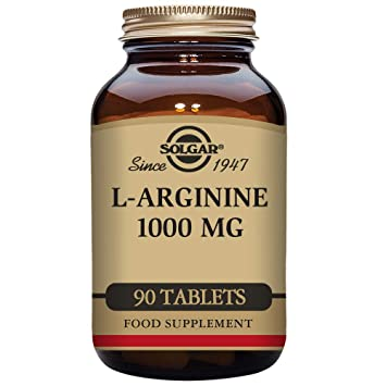 Solgar L-Arginine 1000mg Tablets - Pack of 90