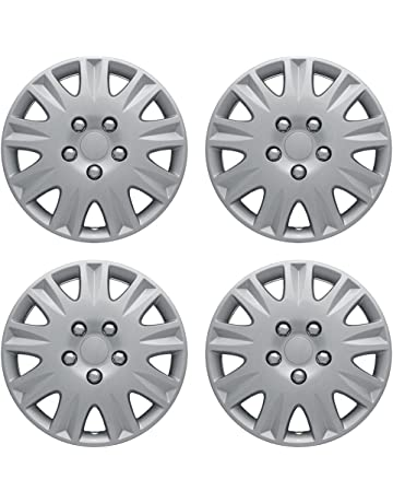 Hubcaps 15 inch Wheel Covers - (Set of 4) Hub Caps for 15in Wheels