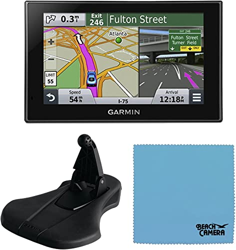 Garmin Nuvi 2689LMT 6-Inch North America Map GPS Car Navigation with Pinch-to-Zoom Capability Friction Dash Mount