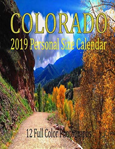 Colorado 2019 Personal Size Calendar