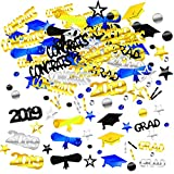 Zhanmai 4000 Pieces 2019 Graduation Confetti Grad Decoration Party Supply for Grad Party Graduation Celebration