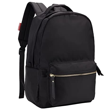 1d743a51f9 HawLander School Backpack Nylon 20 Liters Black Small Size  Amazon.co.uk   Luggage