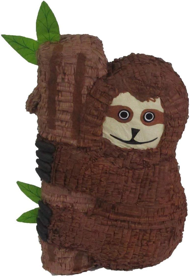 Jungle Party Game and Decoration Sloth Pinata