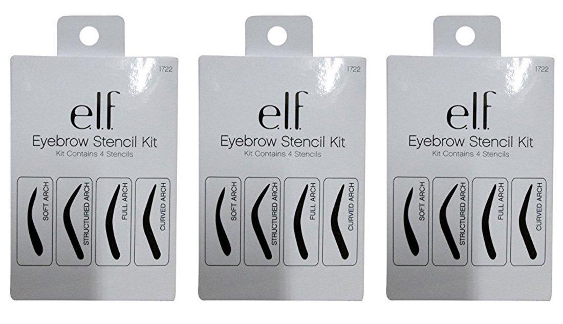 Amazon Elf Cosmetics Eyebrow Stencil Kit For Perfectly