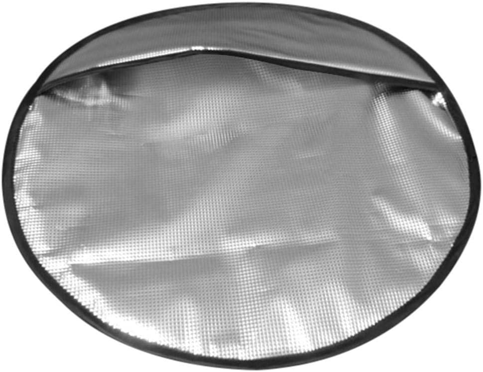 lolly-U Vacuum Cotton Steering Wheel Cover Summer Sun Shade 3-layer Insulation Car Steering Wheel Cover Car Accessories Suitable for Diameter 40cm//15.75in