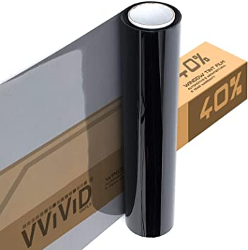 "40/""x25/' Ceramic Window Tint Roll 70/% vlt Very Light Nano Ceramic Car Tint Film"