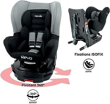Nania Revo Group 0+//1 360 Degree Rotating Car Seat Petrol