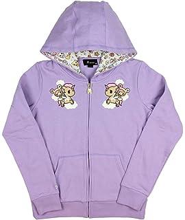 dd912b0d9 Amazon.com: Tokidoki x Hello Kitty Womens' Kawaii Kitty Kaiju Hoodie ...