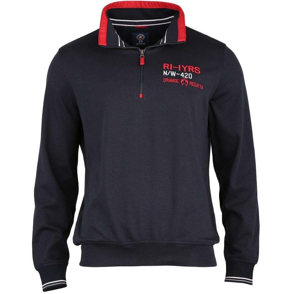 Claudio Campione Herrensweatshirt mit Zipper