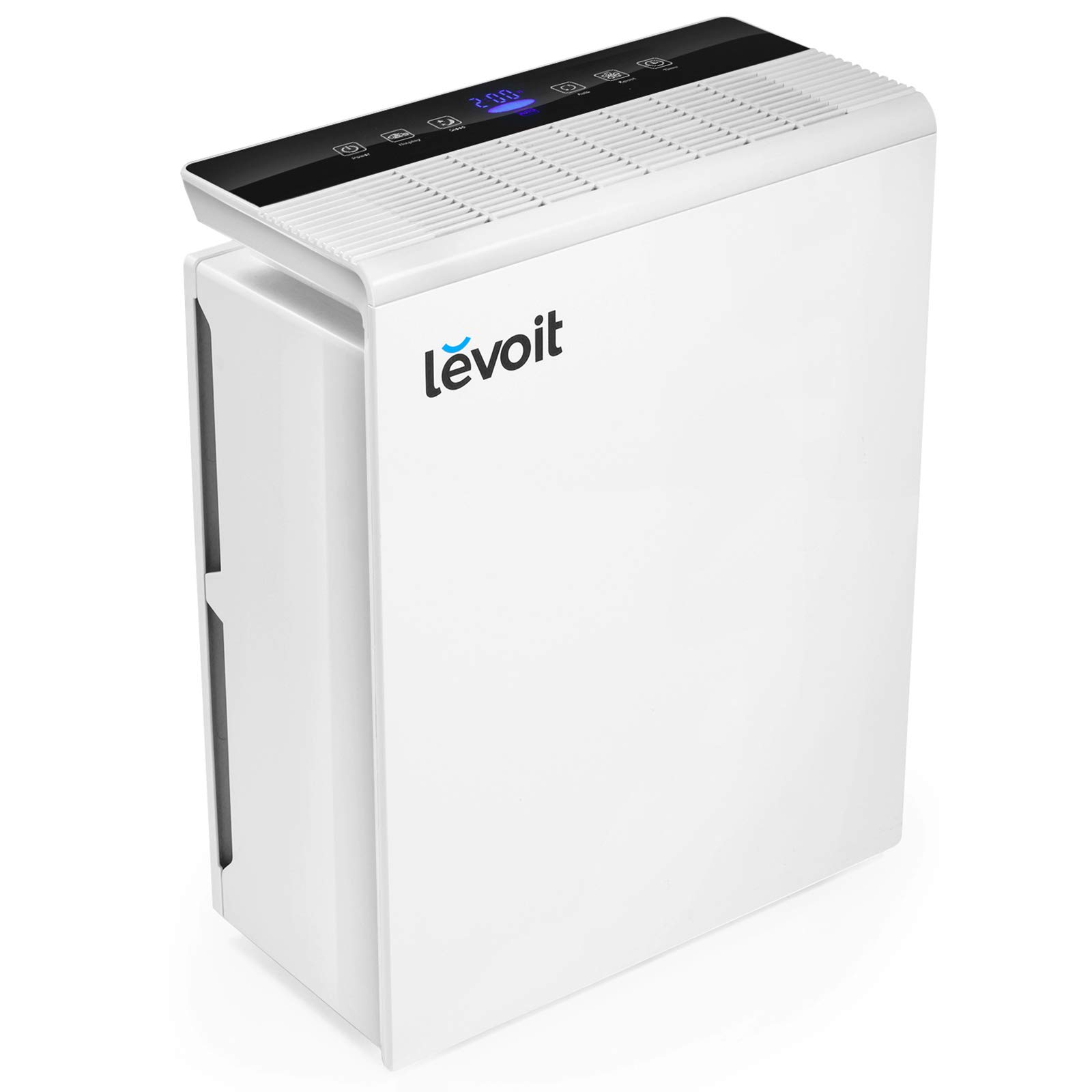 Levoit Air Purifiers for Home 48m² with True HEPA Filter, 1-12H Timer, Auto Mode, Air Quality Monitor, Display Off, Quiet Air Filter for Allergies, Dust, Smoke, Pets, Pollen, Cooking Smell, LV-PUR131 [Energy Class A+]
