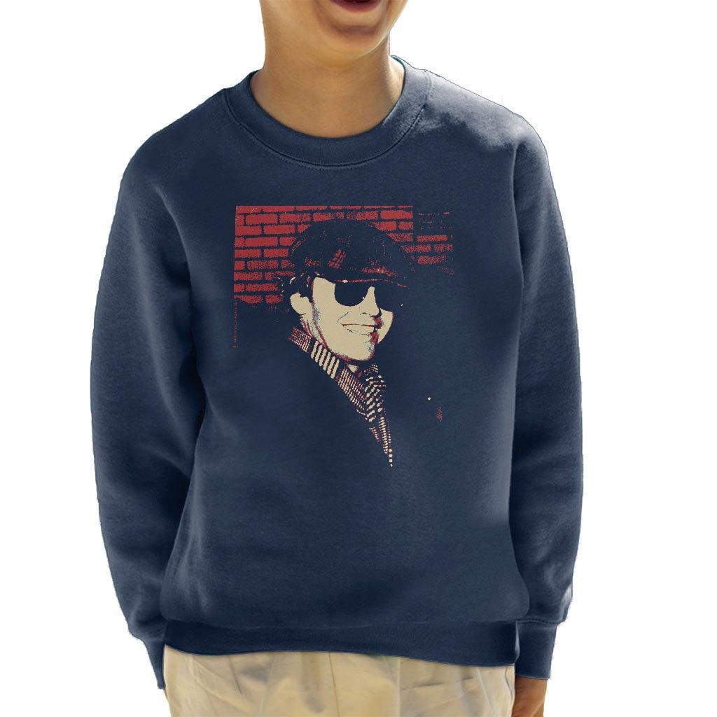 POD66 Jack Nicholson 1976 Sunglasses Cap and Scarf Kid's Sweatshirt