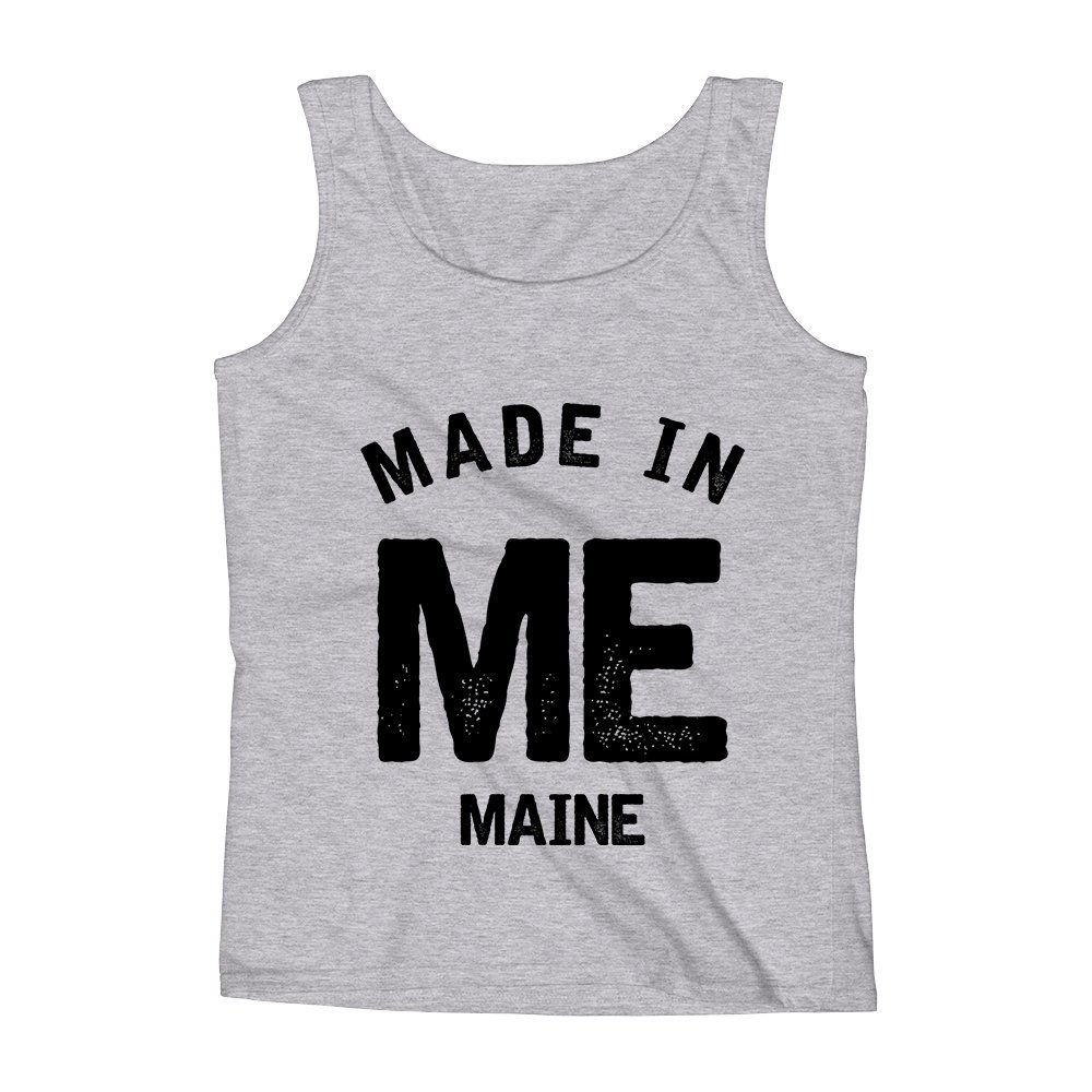 Mad Over Shirts Made in ME Maine Unisex Premium Tank Top