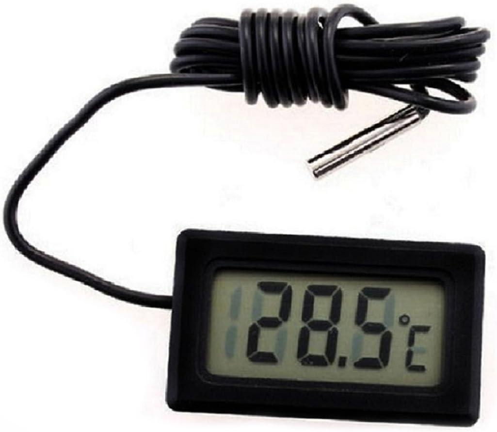 SODIAL(R) Termometro digital de nevera congelador refrigerador ...