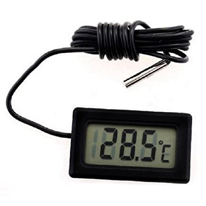 SODIAL(R) Termometro digital de nevera congelador refrigerador temperatura -50 ~ 110 grados