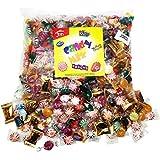 Candy Mix Bulk Assortment Bag Jolly Rancher Variety Fun Strawberry Filled Brachs Werther's Custom Varietea Peppermints and more! Net wt 3.5 LB/56 oz