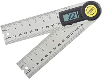 General Tools Instruments 822 5 Inch Digital Angle Finder Rule Amazon Ca Tools Home Improvement