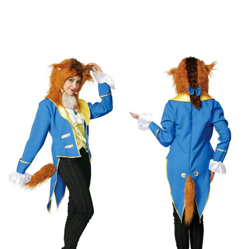 STEAMPUNK Disney Beauty & The Beast - Beast Costume - Adult Costume by STEAMPUNK
