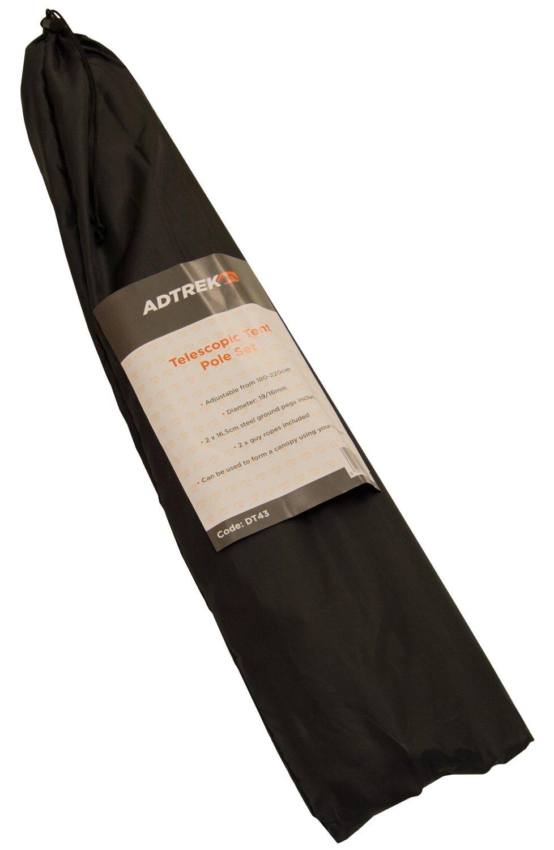 2 x Adtrek 180-220cm Adjustable Universal Telescopic Tent Poles Awning C&ing Amazon.co.uk Sports u0026 Outdoors  sc 1 st  Amazon UK & 2 x Adtrek 180-220cm Adjustable Universal Telescopic Tent Poles ...