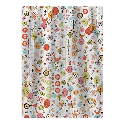 Xmas Brid Tree Apple Beach Towel Yoga Mat Picnic Mat Shower Towel (Christmas Mat Ultra-absorbent Tree)