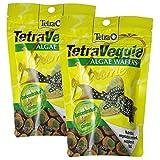 Tetra 16448 TetraVeggie Algae Wafers, 5.29-Ounce - 2 Pack