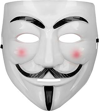Parti Anonymous Guy Fawkes déguisement adulte costume Accessoire mascaras Mask Masque