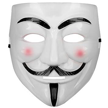 Máscara de Guy Fawkes V como for Vendetta Mask Anti Acta de movimiento