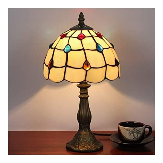 Hecho a mano Lámpara de escritorio viva de 8 pulgadas, lámpara de ...